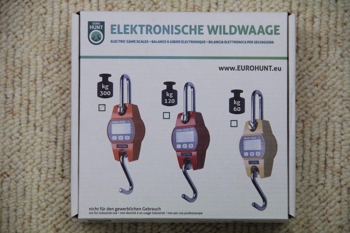 Elektonische Wildwaage