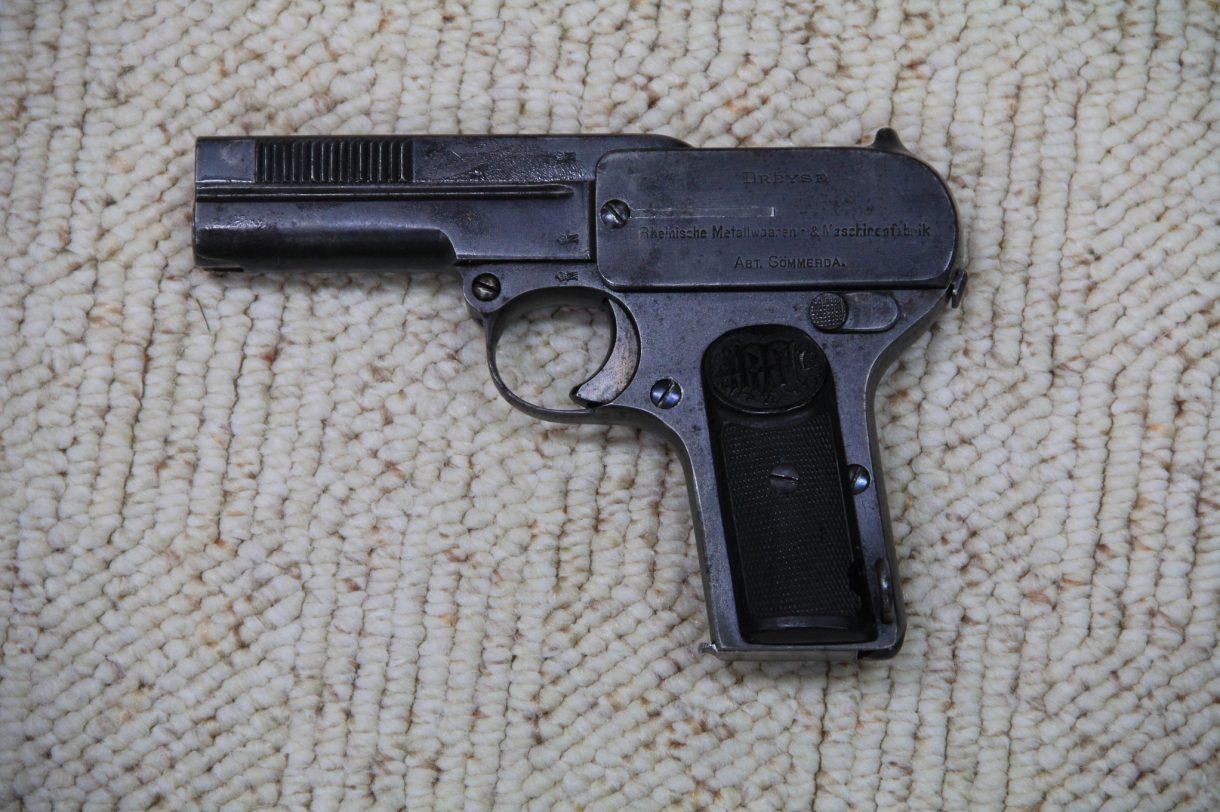 Pistole Dreyse Mod. 1907